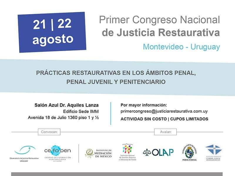 1er Congreso Nacional de Justicia Restaurativa